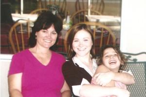 Mom and Kate and I