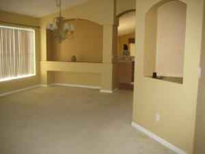 Dining and living areas... may keep the paint color