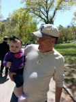 With Poppy in Central Park